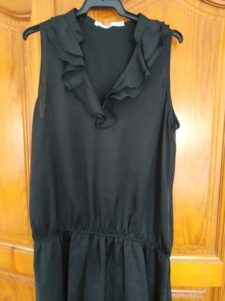 Vestido Negro Corte Inglés