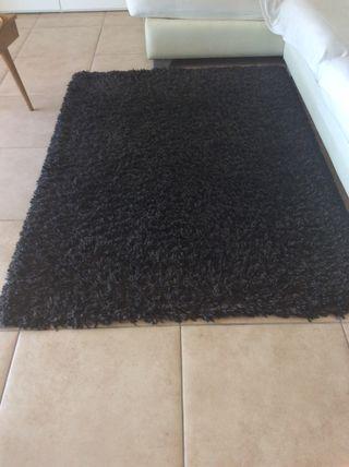 Alfombra 120x170 gris oscuro