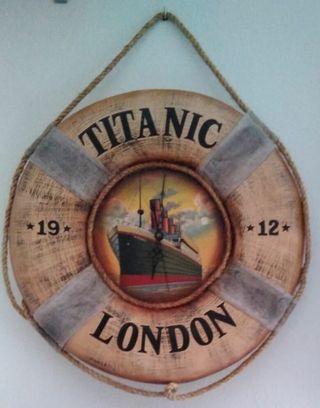 cuadro reloj del titanic
