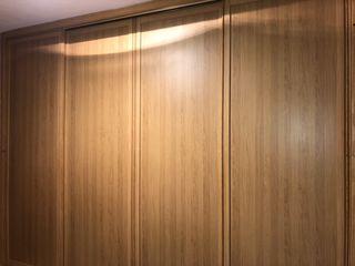Puertas de madera correderas de segunda mano en wallapop for Convertir puerta normal en corredera