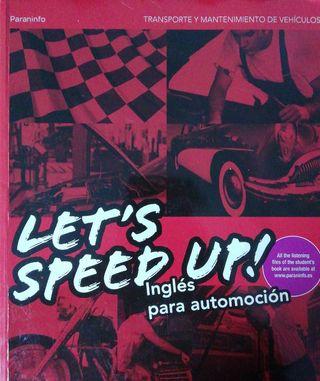 Libro de ingles de automoción Let's Speed Up!