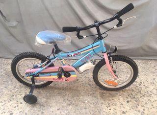 """Bicicleta niño/a infantil 3-7 años CONOR 16"""" NUEVA"""