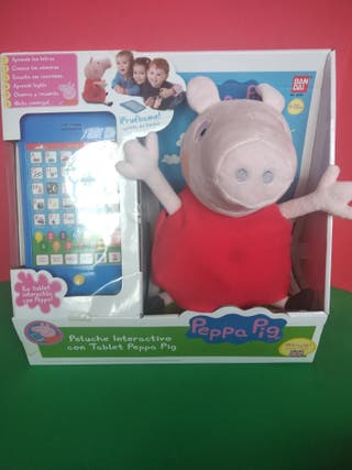 Peppa y su tablet nueva y precintado