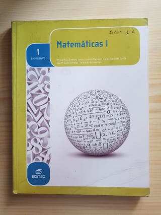 matematicas I 1° de bachillerato