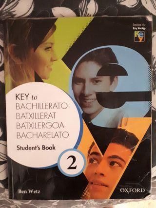 libro de inglés 2° Bachillerato