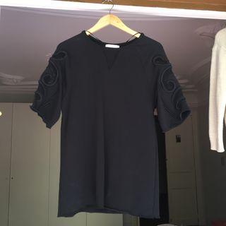 Top jersei vestido ZARA