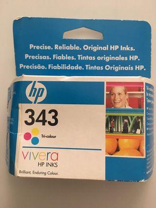 Cartucho tricolor HP 343