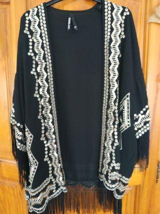 Kimono de flecos