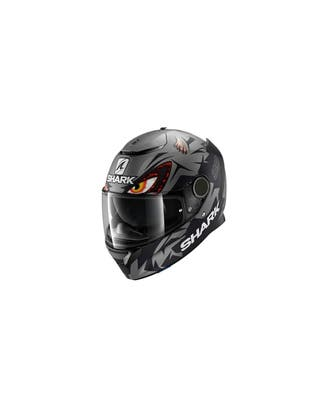 Casco Shark Spartan 1.2 LORENZO MAT GP Anthracite