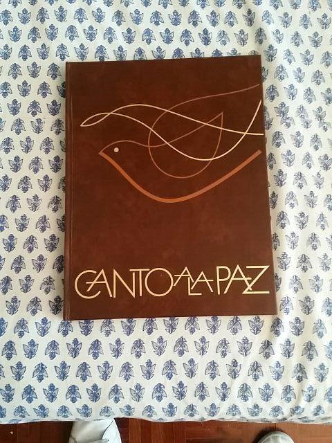 """Libro """"Canto a la Paz"""""""