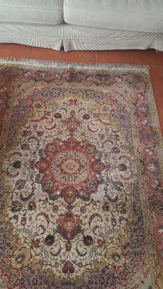 Auténtica alfombra Tabriz persa