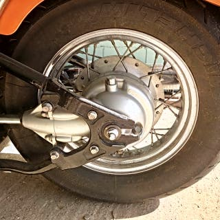Moto Yamaha XVS 650 DRA-ESTAR clásica