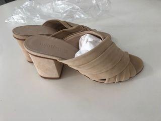Zapatos beige Mint & Rose