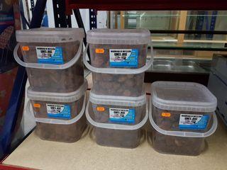 caja de 3 kilos de piedra volcánica