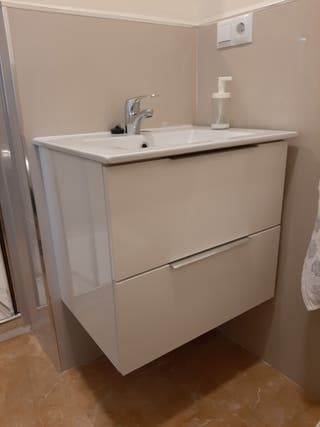 mueble de lavabo 60 cm Leroy Merlin