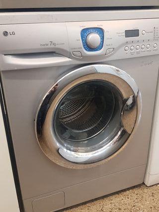 lavadora LG de 7 kilos