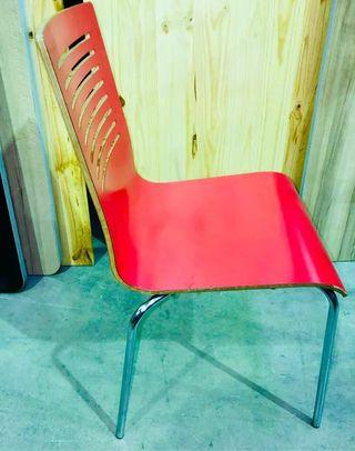 Sillas Rojas Hostelería - Cadires Vermelles