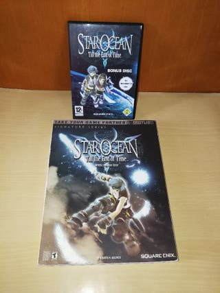 Star Ocean till the end of time guía y bonus disc