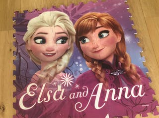 Alfombra puzzle Frozen