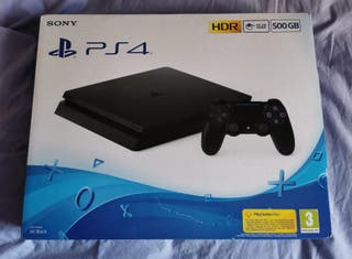 PS3 Slim 500 GB a estrenar