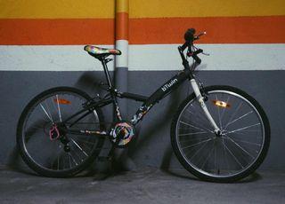 Bicicleta 24 pulgadas b´Twin