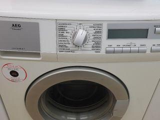 lavadora marca AEG 7kg RPM 1000 clase A