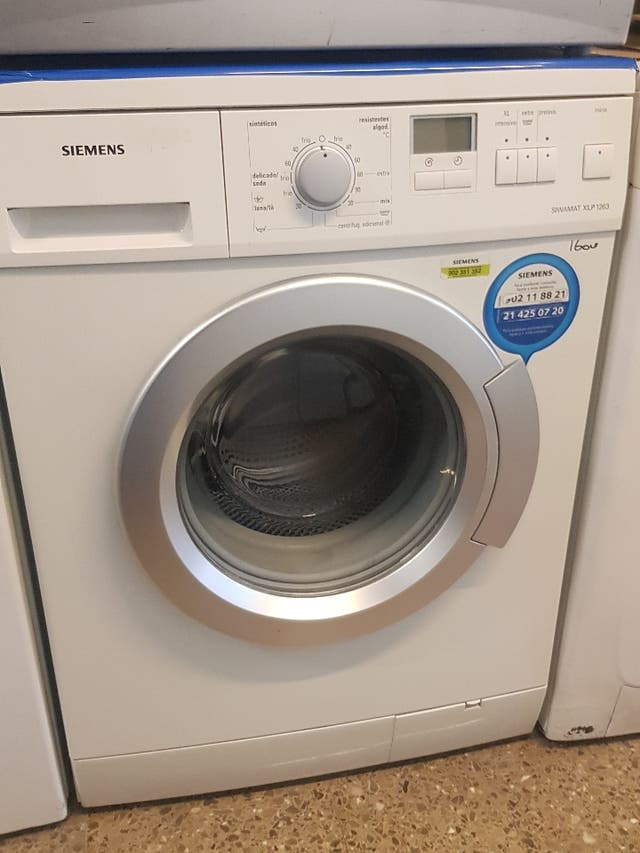 lavadora Siemens de 6 kilos