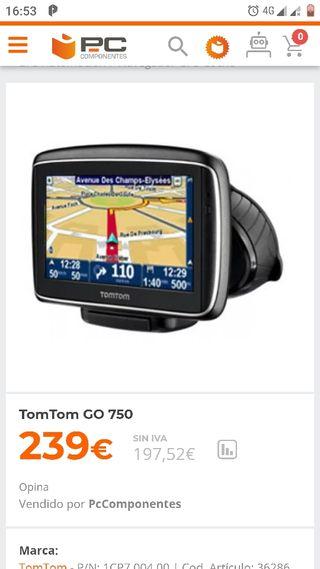 Tom Tom go 750