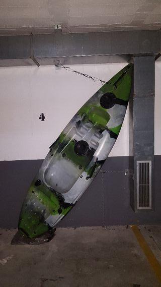 kayak de pesca rigido