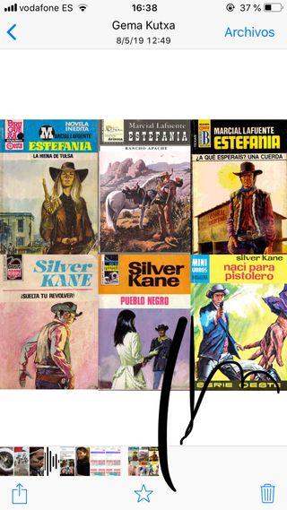 Colección novela vaqueros