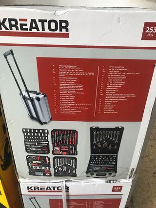 Maletín de herramientas nuevos sin abrir 253 p