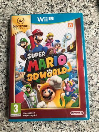 Súper Mario 3d land Wii u