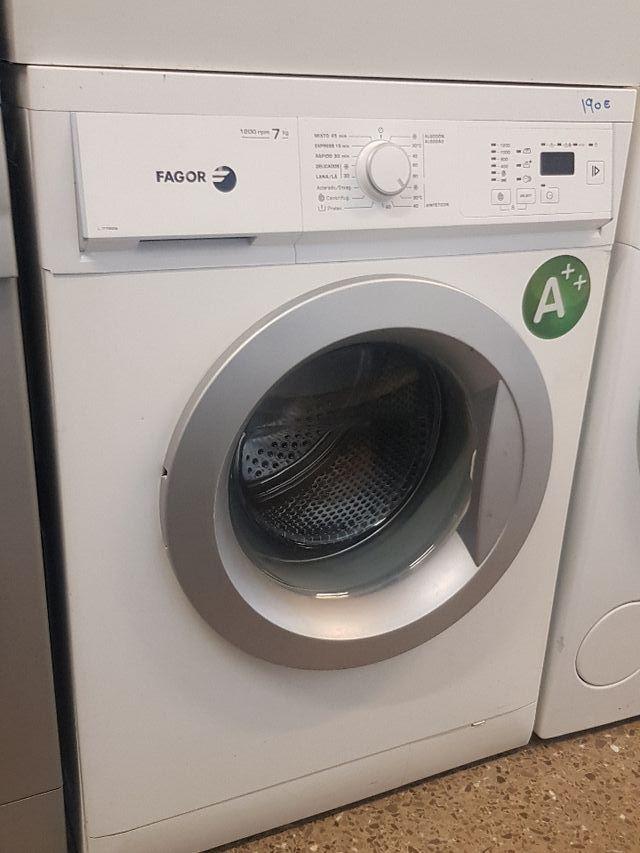lavadora Fagor de 7 kilos