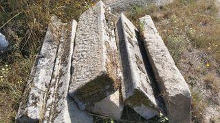 Pasos escalera de piedra