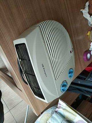 calentador eléctrico de aire con opción a frío.