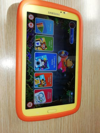Tablet tab 3 especial para niños con carcasa dura