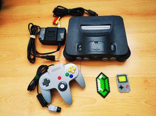 Nintendo 64 - Consola + Mando + Cables