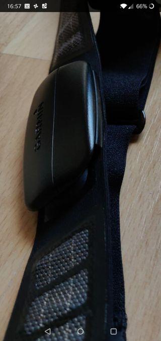 pulsómetro cinta pecho Garmin nuevo