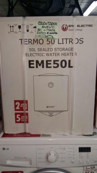 TERMO ELECTRICO NUEVO 50 LITROS.
