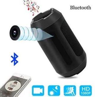 Altavoz bluetooth con cámara. Nuevo