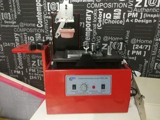 Máquina tampografía eléctrica helo TPD108