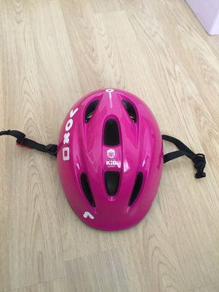Casco bici talla 47-53 cm.
