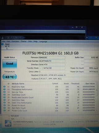 Portatil 4gb bateria nueva