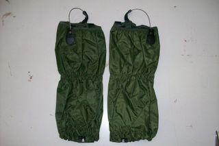 Polainas de caza en nylon color verde