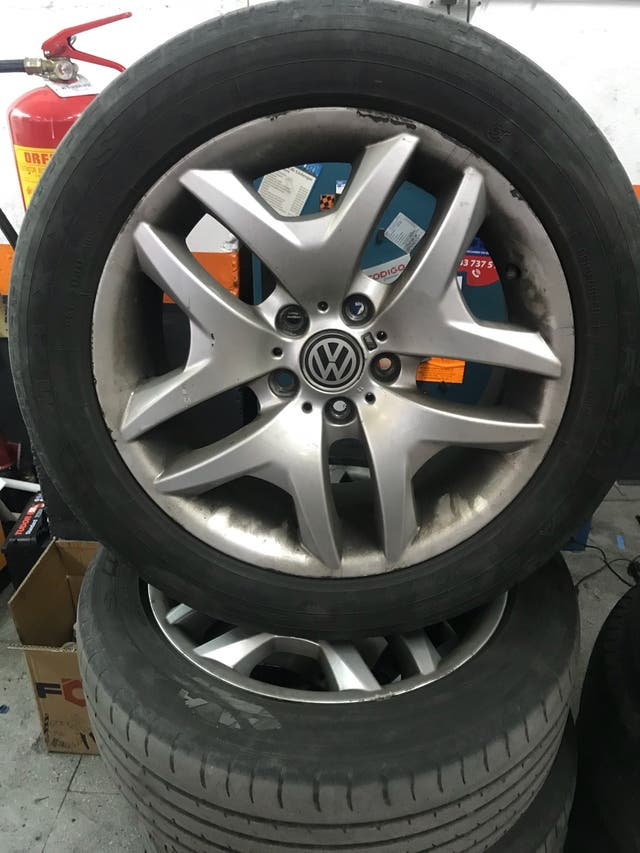 Llantas 18 Volkswagen t5 aceptó cambios