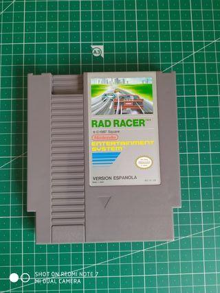 Rad Racer para NES