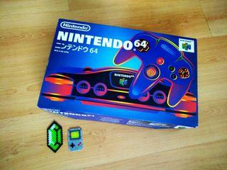 Nintendo 64 JAP - Consola + Juego