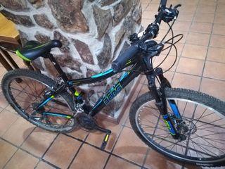 bici berg aluminum freno disco. semi nueva.
