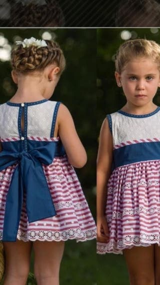 Vestido Copo con etiqueta