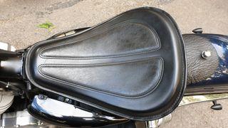 asiento monoplaza para moto custom